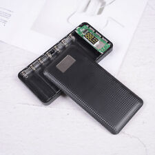 Mobile power bank case diy kit battery charger box 5V 2.1A 3USB 7X USB 18650 HV