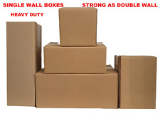 More details for heavy duty cardboard boxes  single wall mailing  packing boxes storage boxes