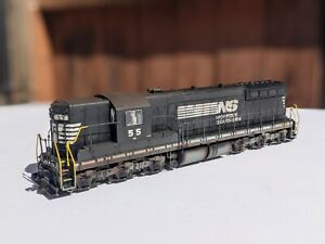 CDH Custom Weathered BROADWAY LIMITED HO SCALE SD9 SOUTHERN Paragon3 Sound/DCC