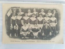 More details for antique rugby photo postcard union sportive marmande 1912-1913 pre wwi france