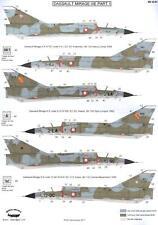 Berna Decals 1/32 DASSAULT MIRAGE IIIE Jet Fighter Part 1