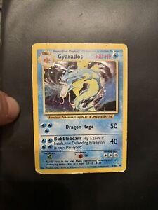Gyarados Base Set 6/102 Rare Holo 1999 WOTC Pokemon Card
