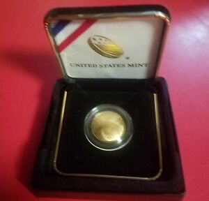 2014 Baseball Hall Of Fame Commemorative Gold Coin