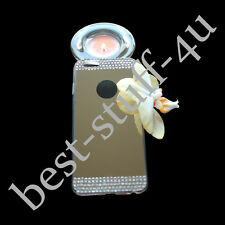 Mirror Crystal >20 Bling Silicone Soft Gel Case Back Cover  iPhone 5S 6 6Plus