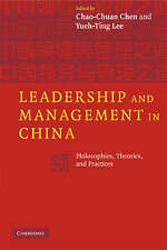 Leadership and Management in China: Philosophies, Theories, and Practices, , Ver