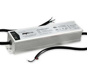 60W LED Power Supply, 12V DC Output, 100-277V AC Input, UL/cUL Certified Class 2