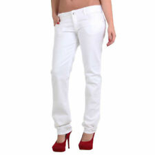 Jeans blanc pour fille de 2 à 16 ans en 100% coton