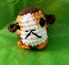A Crocheted Porg Amigurumi Stuffed Toy