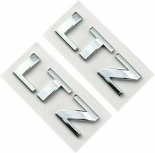 Chrome Red Black 2 Pcs Z71 OFF ROAD Emblem 3D Badge Nameplate Replacement for GM Chevy Silverado Colorado Suburban GMC Sierra Tahoe 5.1 INCH