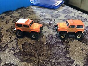 2 Stomper 4x4 Schaper Jeeps Renegade #78 Orange