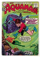 DC Comics AQUAMAN Vol 1 No 2  SILVER AGE captain sykes justice league  4.0 VG