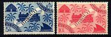 FRENCH SOMALI COAST - COSTA FRANCESE SOMALA - 1943 - Locomotive e Palme -