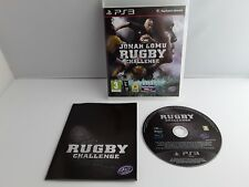 Jonah Lomu Rugby Challenge  PS3 Game Excellent condition with Manual Fathers Day