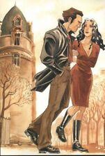 Ex-libris Offset Phenomenum Couple marchant Folle Image