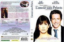 DVD FILM COMEDIE ROMANCE : L'AMOUR SANS PREAVIS - HUGH GRANT / SANDRA BULLOCK