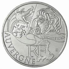 10 euros des régions personnages en argent Auvergne 2012