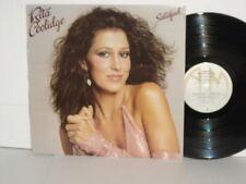 RITA COOLIDGE Satisfied LP Vinyl 1979 A&M Records Pop Vocal Soft Rock