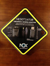 NEW Negotiator Universal Gaming Adapter for Playstation 3 Xbox 360 PC Nox