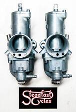 Carb Triumph BSA 932 Amal Carbureter Set 32mm pair left right carbs L932 R932