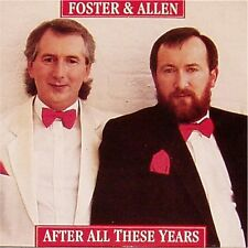 """FOSTER & ALLEN 'AFTER ALL THESE YEARS' UK PICTURE SLEEVE 7"""" SINGLE"""