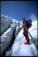 599046 Europea Freestyle campeón de esquí Sewald Escalada En Hielo A4 Foto Impresión