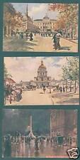 Paris Collection des 8 Cartes Postales (f2257)