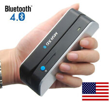 New Bluetooth MSRX6(BT) MSR-X6BT Credit Card Reader/Write/Encoder Magnetic Swipe
