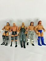 WWE 2010 Mattel Action Figure Lot Of 5 preowned random figure wrestling