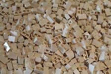 500 x LEGO ® brique/pierre/pierres 1x2 (3004) en blanc/white NEUF