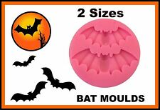 Bat Silicone Mould 2 different Size Bats. PERFECT FOR FONDANT SUGAR CRAFT. ECT