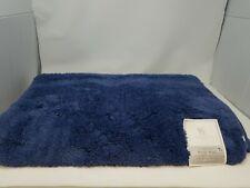 """NEW Wamsutta Ultra Soft 24"""" x 60"""" Bath Rug - Denim Blue"""