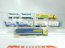 bh79-1 #5x Wiking H0 / 1:87 Model:472 Man +475 IVECO + 82-07 etc. , MINT