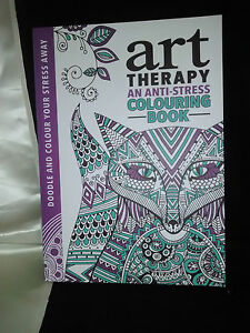 Colour Therepy Book Anti Stress Adult Soft cover Michael Omara 2014 NEW