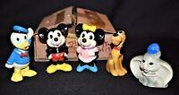 Vintage Retro 1981 Disney Characters Dumbo Pluto Donald Mickey Minnie Made Korea