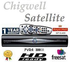 AMSTRAD Sky + Plus HD da 300GB BOX RICEVITORE SATELLITARE NUOVISSIMO TELECOMANDO E PORTA