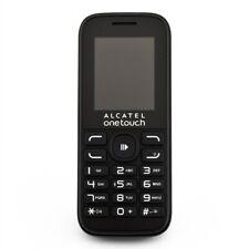Alcatel Onetouch 1052 G Noir Téléphone Portable contrôlée marchandises d'occasion