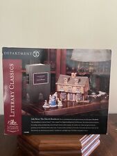 "Dept. 56 Literary Classics ""Little Women - The March Residence"" New!"