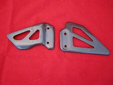 Carbon Fiber Heel Plates Suzuki GSXR 600 750 1000 K1 to K4 and TLS 1000 00 03