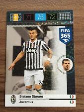 PANINI ADRENALYN XL FIFA 365 STEFANO STURARO one to watch Juventus Torino