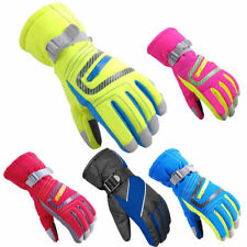 Adult Womens Mens Winter Waterproof Mittens Warm Kids Ski Snowboard Gloves Gift