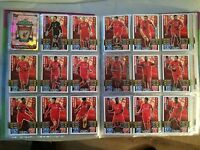 Match Attax 2015/16 Liverpool FC Topps Base Football cards 2016