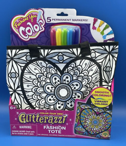 Glitterazzi Fashions You Color (Fashion Tote~Messenger Bag~Hipster Bag~Wristlet)