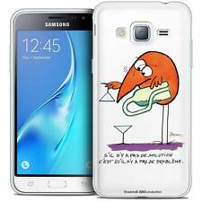 Coque Crystal Pour Samsung Galaxy J3 2016 (J320) Souple Les Shadoks® Pas De Prob
