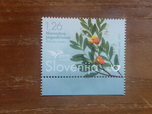 SLOVENIA 2017 EUROMED- TREES OF THE MEDITERRANEAN MINT STAMP