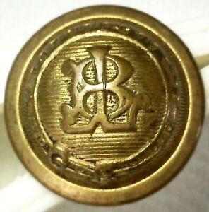 Vintage B & L Railway Conductor Button Scovill Waterbury Mfg Co. Boston & Lowell