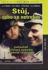 Stuj, nebo se netrefim (Halt, or I'll Miss!) DVD paper sleeve English subtitles