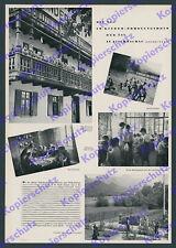 Kinder Erholungsheim Jugend Ferien Fischeralm Fischbachau Aurach Oberbayern 1936