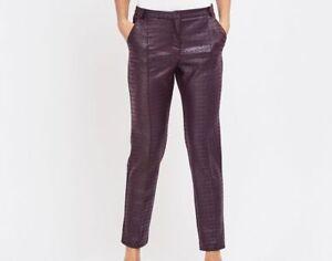 Women Slim Leg Leggings Ladies Faux leather & mock Croc trousers Fashion wear
