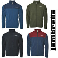 Lambretta Fleece Jacket Thermal Mens Jumper Zip Soft Warm Lined Polar UK S-4XL