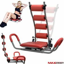 MAXSTRENGTH Gym Fitness Ab Abdominal Rocket Twister Crunches Exerciser Machine